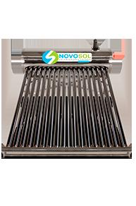 Calentadores Calentadores solares para 6 personas 18 tubos marca novosol