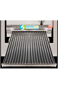 Calentadores Calentadores solares para 7 personas 20 tubos marca novosol